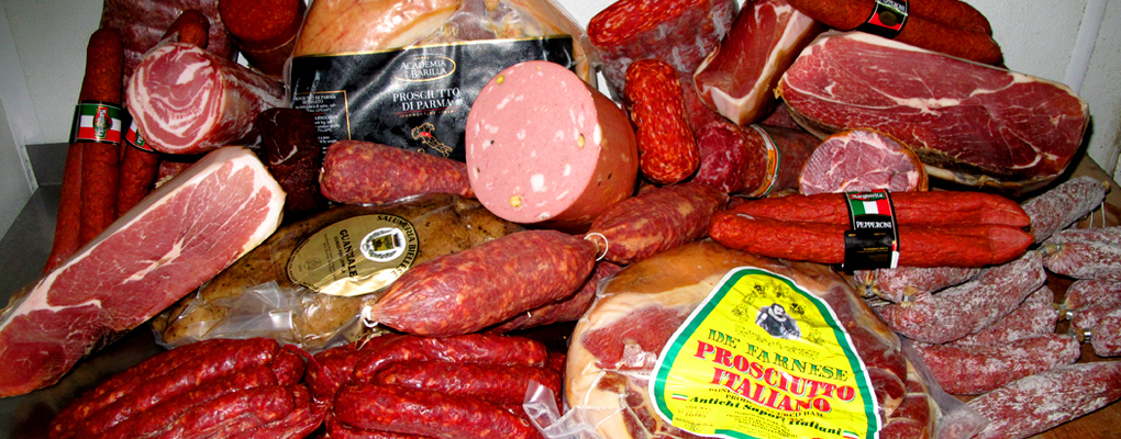 Bari offers the best cuts of cured meat from our deli counter.